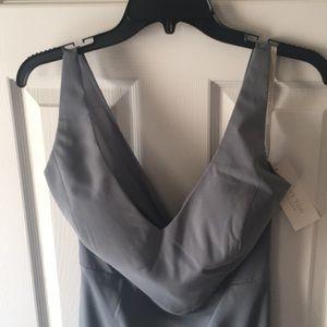 dc0b1bb402e Jenny Yoo Dresses - Jenny Yoo Denmark Blue stretch crepe Delaney Dress